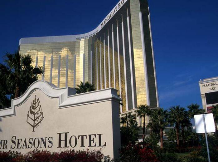 Hotel Front View - Amazing Four Seasons Hotel Las Vegas, NV - Las Vegas - rentals