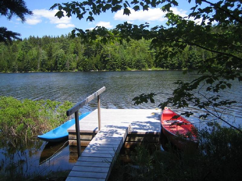 Canoe on Hodgdon Pond, Seal Cove Cabin - Image 1 - Tremont - rentals