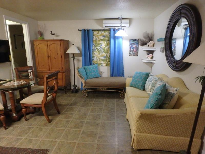 Living and dining area in our Cayman Islands cottage for rent - Cayman Islands Vacation Cottage - Bodden Town - rentals