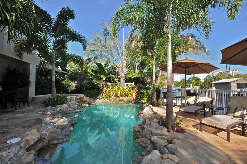 Private Beach, Luxury waterfront vacation home! - Image 1 - Fort Lauderdale - rentals