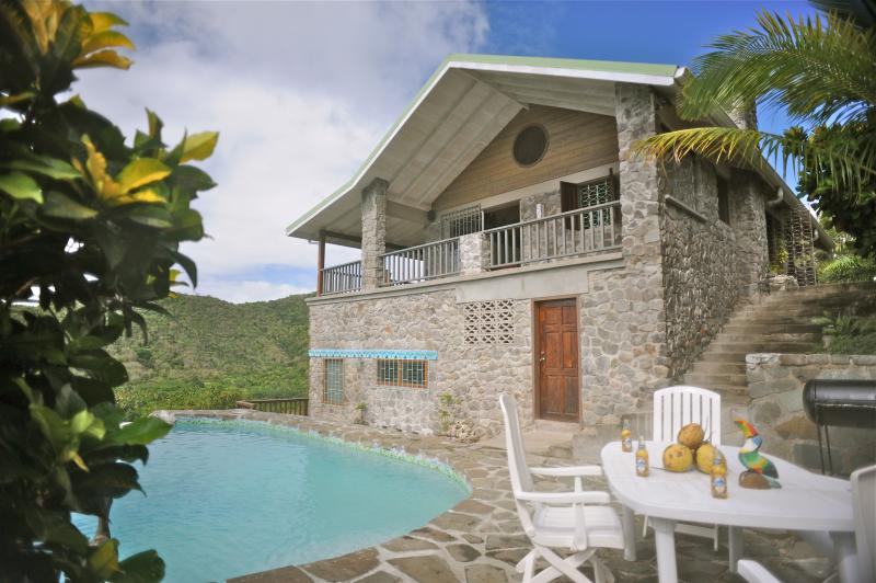 The Stone House with Private Pool - The Stone House- with Bay View - Marigot Bay - rentals