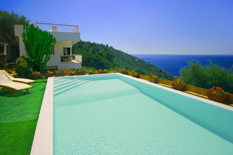 Villa Coralli – Amalfi Coast - Private beach - Image 1 - Marina del Cantone - rentals