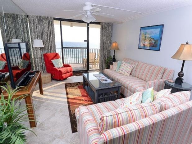 Beautifully updated 6th floor unit with Gulf view! - Charming PCB Gulf Front Condo - Totally Renovated! - Panama City Beach - rentals