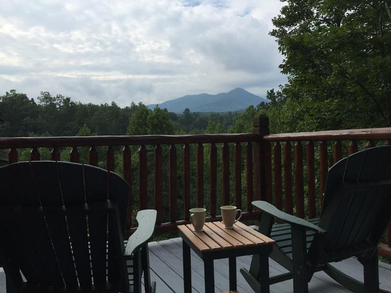 "Spectacular views of Mt. LeConte year round. - Great Mountain View New to rental! 65"" HD TV - Gatlinburg - rentals"
