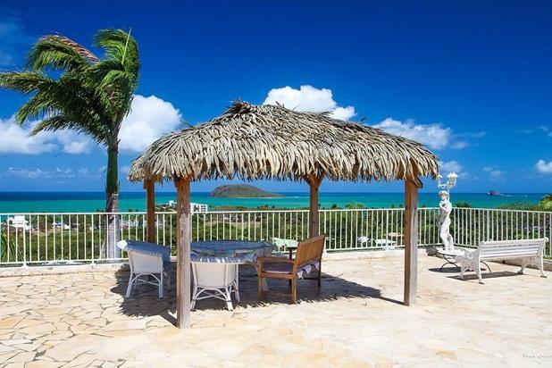 Residence CARAIBES BONHEUR 4 stars Pool, Sea View - Image 1 - Deshaies - rentals