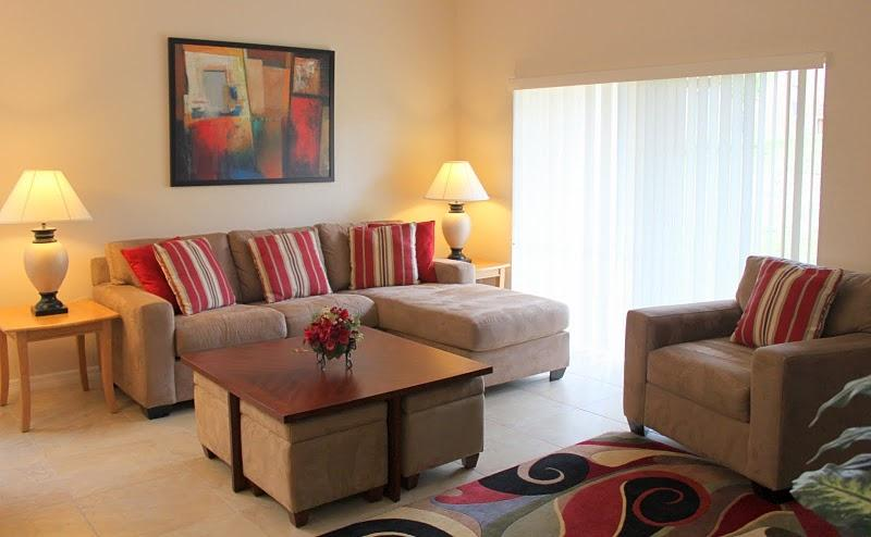 living area - 4 bed Townhouse, Regal Palms, Close to Disney - Davenport - rentals