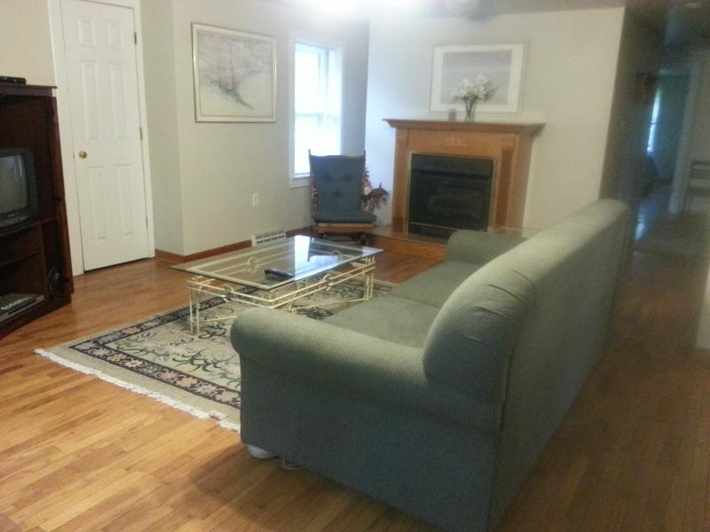 Living Room - Secluded Haven-by Lake MI Pool/Hotub - South Haven - rentals