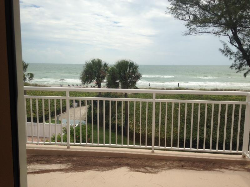 Beautiful beach view from the living room and balcony. - Beach & Tennis Enthusists Vacation Condo - Longboat Key - rentals