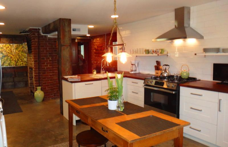 Eat in Kitchen - LOCATION LOCATION! Luxurious Downtown Flat - Chattanooga - rentals