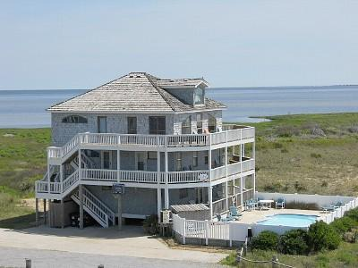 Your Oasis - Oceanfront to Soundfront O.B.X Oasis by Owner - Hatteras - rentals