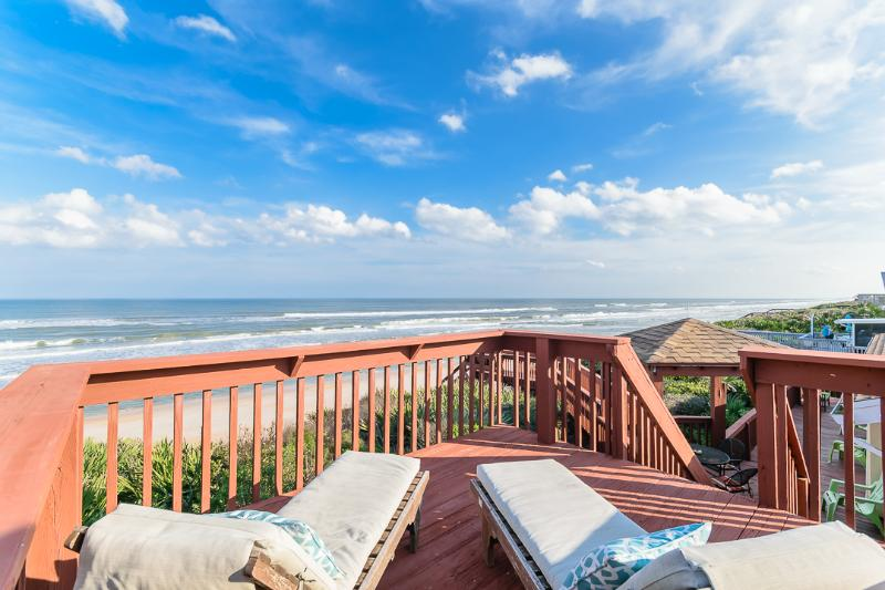 View from the tanning deck - Almost Heaven, a 3 bedroom, 2 bath beach house. - Ponte Vedra Beach - rentals
