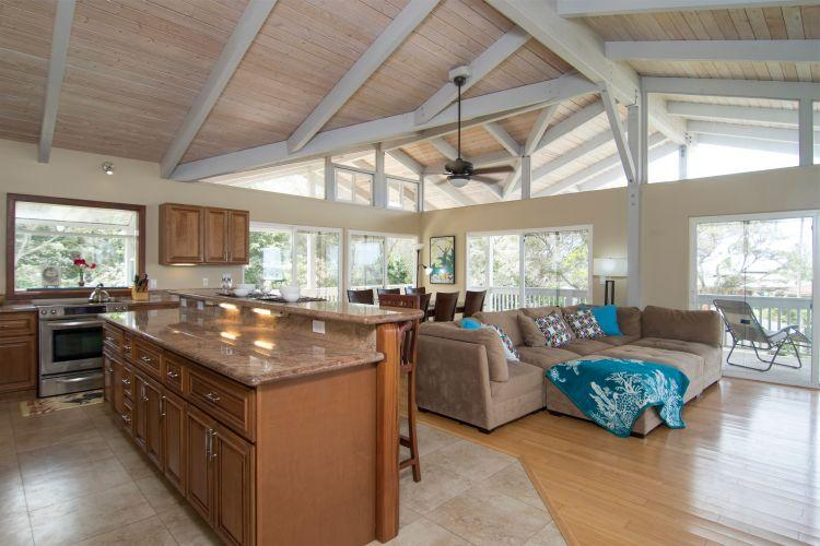 Spacious Two Level House with Views & Pool - Image 1 - Sunset Beach - rentals