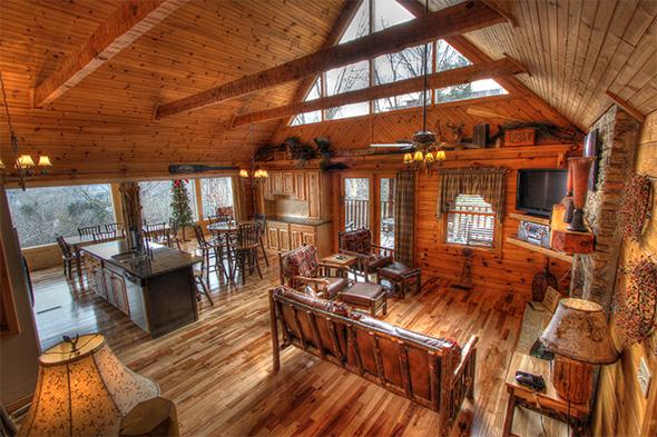 LUXURY CABIN W/PANORAMIC MAJESTIC MOUNTAIN VIEW - Image 1 - Sevierville - rentals
