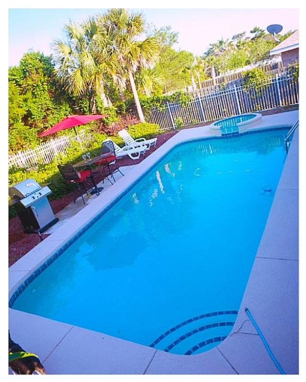 Relaxing Private Pool & Spa Steps From The Beach! - Image 1 - Miramar Beach - rentals