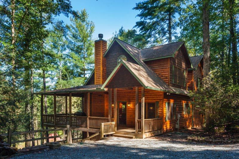 Moose River Lodge - Luxury on the Coosawattee - Image 1 - Ellijay - rentals