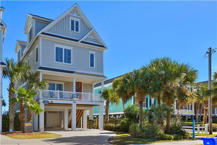 Washed Ashore - Ocean Front With Private Pool - Image 1 - Surfside Beach - rentals