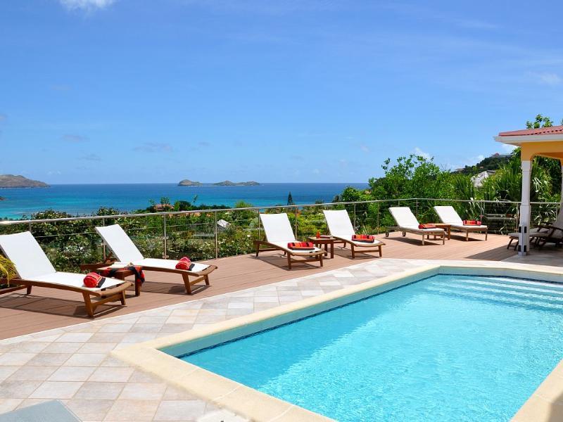 Deluxe Villa Les Acajous Spectacular View - Image 1 - Saint Jean - rentals
