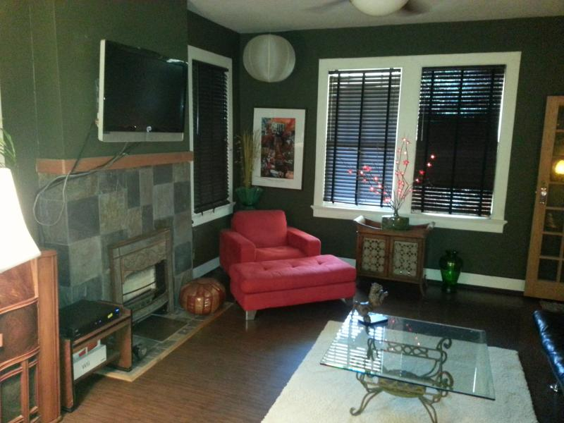 Living Room apartment B - Broad by the Bayou-Mid City - New Orleans - rentals
