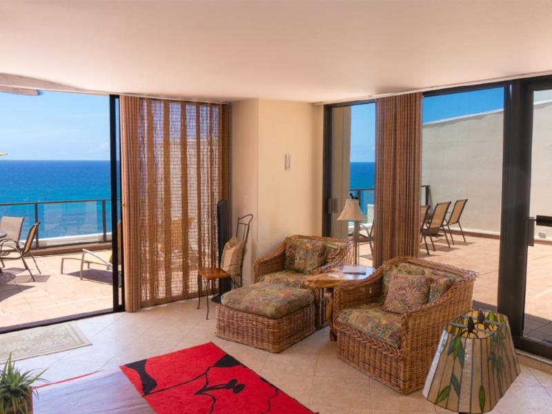 Gorgeous Unobstructed Ocean Front Condo/Princevill - Image 1 - Princeville - rentals