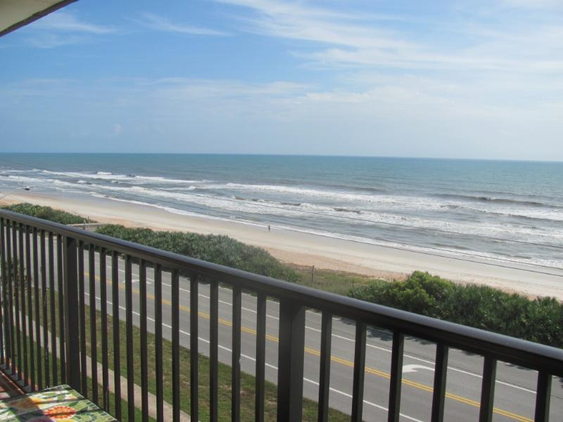 view from balcony - ORMOND-BY-THE-SEA BEACHFRONT CONDO - Ormond Beach - rentals