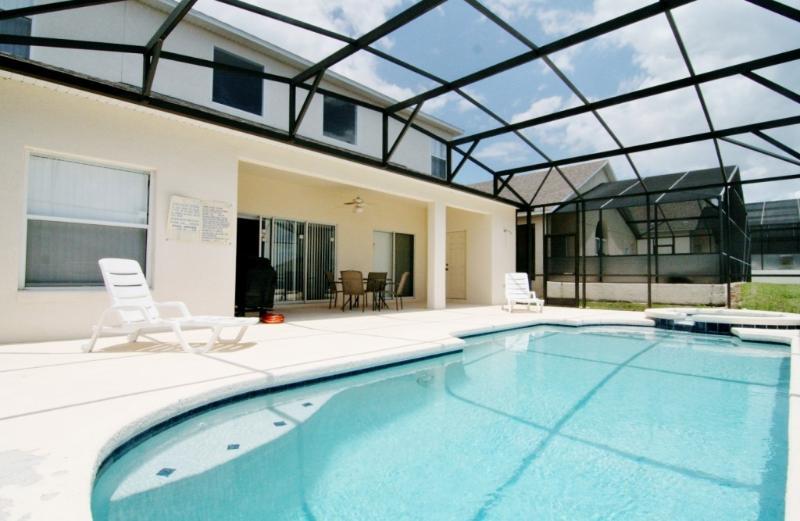 Swimming Pool & Spa - No.2 - SPECIAL 10% OFF SUMMER 17 - Disney Villa * 6bedroom/3.5 bathroom sleep 14 - Davenport - rentals