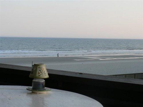 Ocean view from our covered balcony - Beautiful OceanFront View 2 Bedroom Unit, Next Door to Ocean Annie - Myrtle Beach - rentals