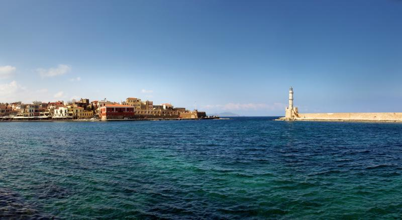 Double area apartment,2-4 people Chania West Crete - Image 1 - Chania - rentals