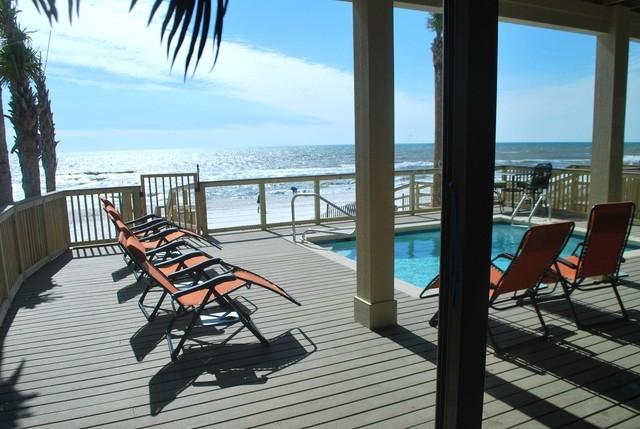 Private Pool and Deck on the Ocean!!!! - Panama City Oceanfront Home Private Pool Sleeps 16 - Panama City - rentals