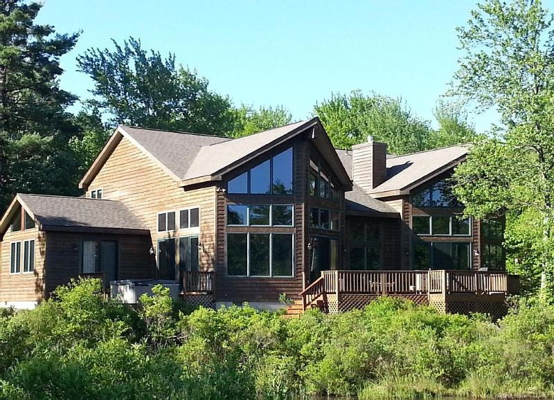 Waterfront view - SPECTACULAR WATERFRONT CUSTOM EXECUTIVE HOME - Pocono Pines - rentals