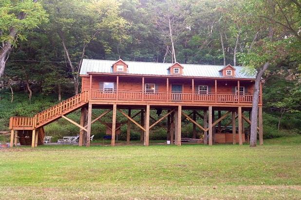 Newly Built Cabin Overlooking the Shenandoah River - Image 1 - Shenandoah - rentals