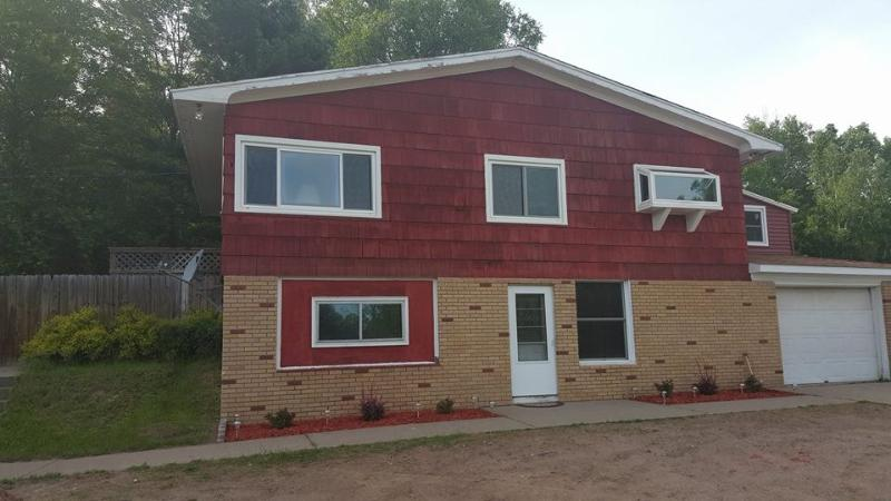 Outside, summer time - Gorgeous Marquette home, Open all year round! - Marquette - rentals