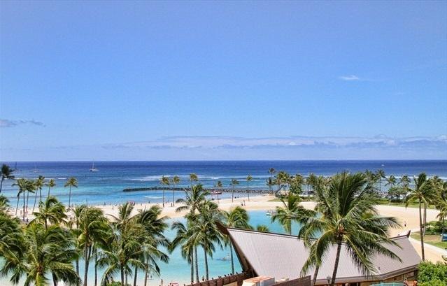 Waikiki IIikai Suites 542 Ocean/Lagoon/Fireworks - Image 1 - Waikiki - rentals