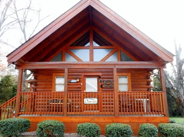 "Happy Bear Cabin - Five Star- ""Happy Bear Cabin"" - Pigeon Forge - rentals"