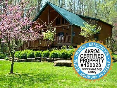 Cabin in Springtime
