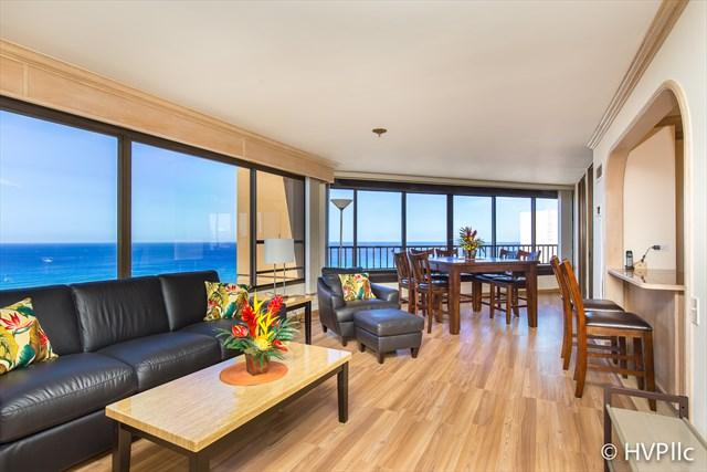 MONTHLY 2 Bdrm 2 Bath Ocean Sunset Views w Parking - Image 1 - Honolulu - rentals