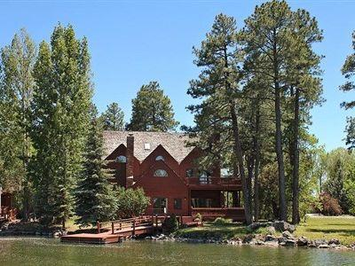 View of our home from the lake - Gorgeous Lake House on Bald Eagle Point - Lakeside - rentals