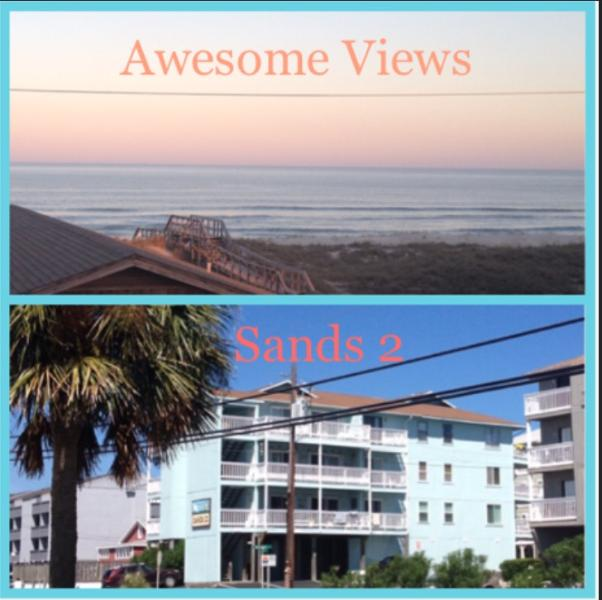 2 BR Condo with Ocean & Lake views - Sands II - Image 1 - Carolina Beach - rentals