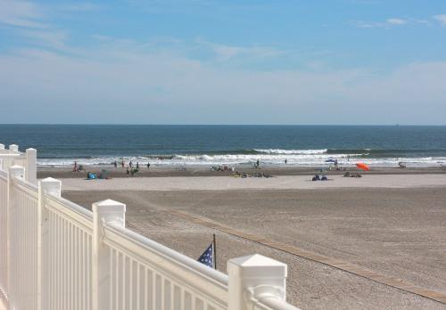 Balcony View From Our  Unit - Ocean Front Condo (Summer Place) - Wildwood Crest - rentals