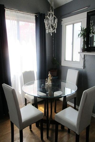 Elegant dining area. - Charming and Historic 1918 Hollywood Bungalow - Hollywood - rentals