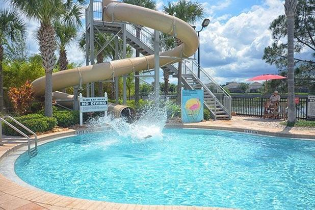 Resort pool - Free to use for guests - Lake View 6B/4B Windsor Hills, 2 miles to Disney - Kissimmee - rentals