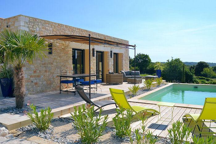 Orgnac L'Aven Ardèche, New villa 6p, private pool in nice surrounding - Image 1 - Orgnac-l'Aven - rentals