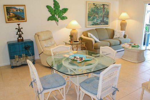 Dining Area - IM G-13 - Island Manor - Marco Island - rentals