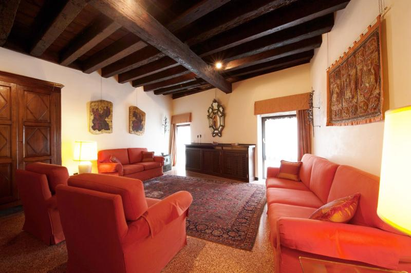 Palazzo Mocenigo - Romantic and Luxury flat with Canal Grande View - Image 1 - Venice - rentals