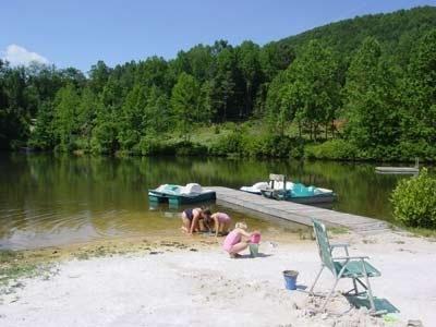 The Lake and Beach - Log Cabin, Lake, Fishing, Paddle Boats, Swiming - Saluda - rentals