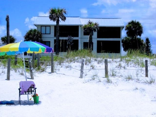 Our private beach access, Anna Maria Island - Absolute Anna Maria - Bradenton Beach - rentals