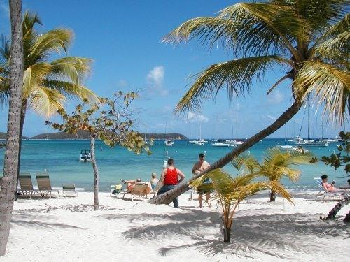 View from the Beach - St. Thomas Beachfront Condo - Saint Thomas - rentals
