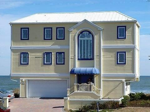 Front of Beachhouse - Water's Edge is a Luxury OCEANFRONT Beach House - Saint Augustine - rentals