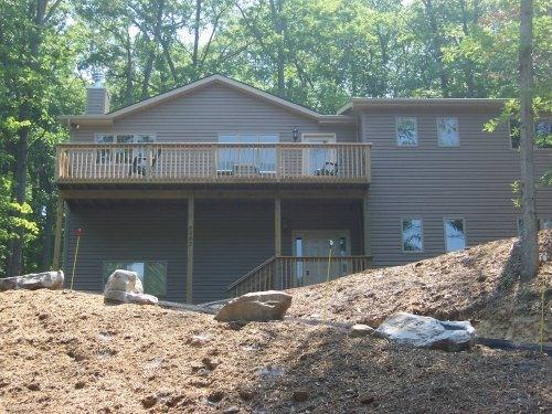 Front of home - Sauna, Home Theater Room, In the Trees!... - McGaheysville - rentals