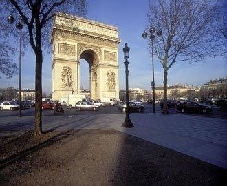 The magnificent Arc de Triomphe - Lovely Paris Apartment for Two:Arc de Triomphe - Levallois-Perret - rentals