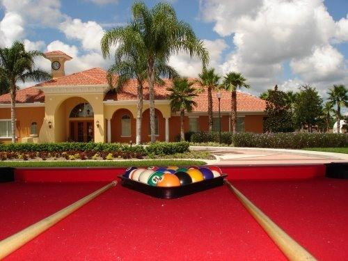 Game room of Disney Palm Villa - Luxury 6 BR Pool/Spa Next to Club House - Davenport - rentals